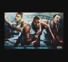 San Antonio Spurs Big Three Kids Clothes