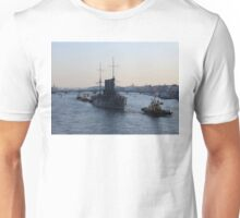 Russian Revolutionary Cruiser Aurora Unisex T-Shirt