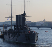Russian Revolutionary Cruiser Aurora Sticker