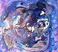 ocean nursery by Faith Puleston