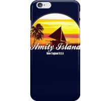 Amity Island - (JAWS)  iPhone Case/Skin