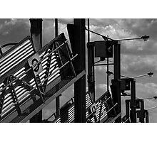 Saleyard Ramps Photographic Print