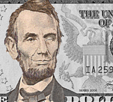Have You Seen The New Five Dollar Bill? Sticker