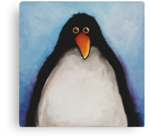 My penguin Canvas Print