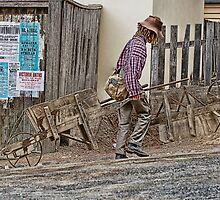 Street Cleaner - Sovereign Hill by Samantha Cole-Surjan