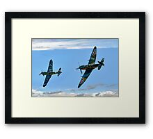 Dogfight Duel Rematch Framed Print