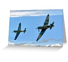 Dogfight Duel Rematch Greeting Card