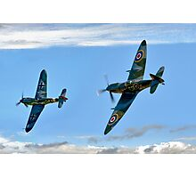 Dogfight Duel Rematch Photographic Print