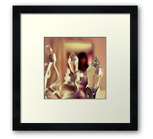 And her name was... Framed Print