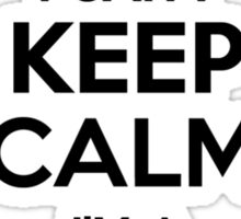 I cant keep calm Im a CAIANO Sticker