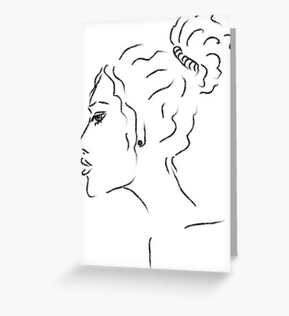 profile Greeting Card