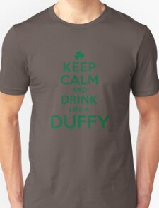 Cool 'Keep Calm and Drink Like a Duffy' Last Name T-Shirts, Hoodies and Gifts T-Shirt