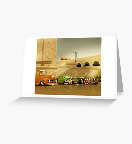 Viva Las Vegas Greeting Card