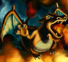 Charizard by brittanyjohnson