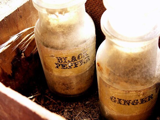 Old Bottles by Tanya Bowers