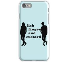 Fish finger and custard iPhone Case/Skin