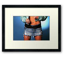 Blue Jacket Framed Print