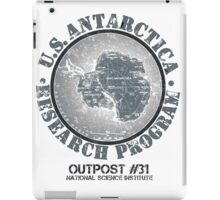 John Carpenter's The Thing (Outpost 31)  iPad Case/Skin