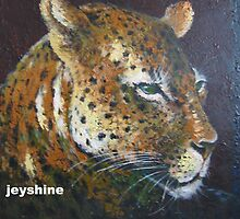 impressional Animal tiger  oil painting  by Amy zeng
