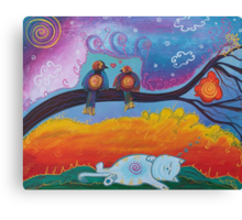 In Dreams Canvas Print