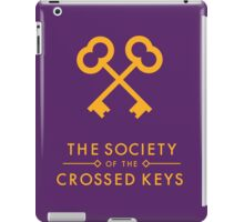 The Society of the Crossed Keys iPad Case/Skin