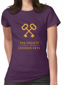 The Society of the Crossed Keys Womens Fitted T-Shirt