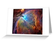 Orion Nebula Space Galaxy  Greeting Card