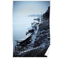 Maekong Boats - Thailand Poster