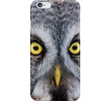 Great Grey Owl iPhone Case/Skin