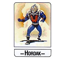 He-Man - Hordak - Trading Card Design Photographic Print