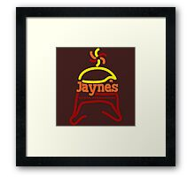 Jayne's Horse Steakhouse. Framed Print