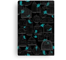 CHIRP CHIRP (dark) Canvas Print