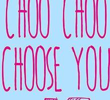 I Choo Choo Choose You Valentines Gift by emdemapparel