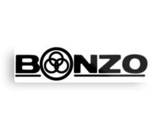 John Bonham (Bonzo) Symbol  Metal Print