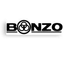John Bonham (Bonzo) Symbol  Canvas Print