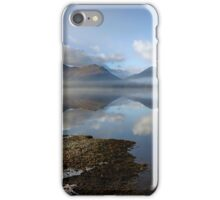 A Perfect Day at Derwentwater in the English Lake District iPhone Case/Skin