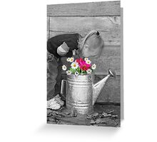 In Country Color Greeting Card