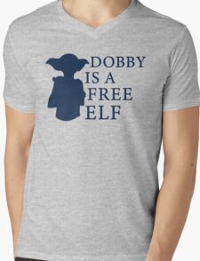 Dobby is a free elf - Type 2 Mens V-Neck T-Shirt