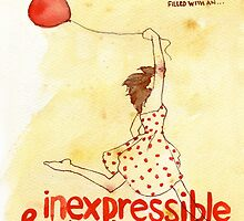 Inexpressible & Glorious Joy - 1 Peter 1:8 by paintedverses