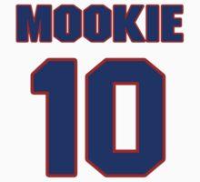 Basketball player Mookie Blaylock jersey 10 by imsport