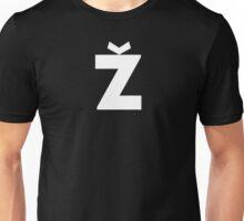 Žižek's Ž (white, stylish Z) Unisex T-Shirt