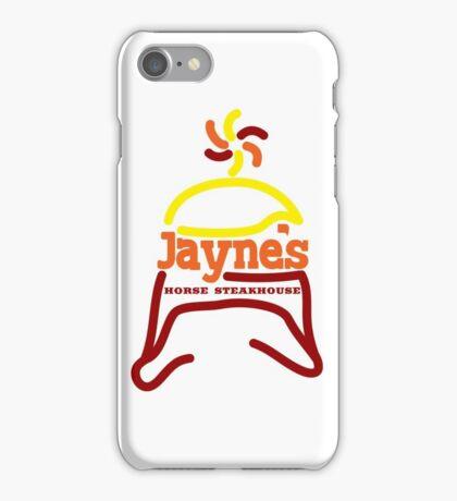 Jayne's Horse Steakhouse. iPhone Case/Skin