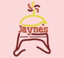 Jayne's Horse Steakhouse. One Piece - Short Sleeve