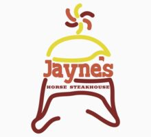 Jayne's Horse Steakhouse. One Piece - Short Sleeve