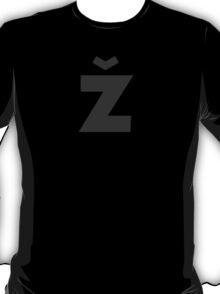 Žižek's Ž (darkgray, fancy Z) T-Shirt