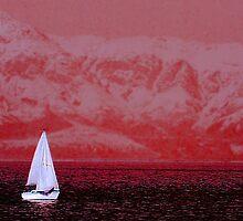 Sailing the Great Salt Lake by Ryan Houston