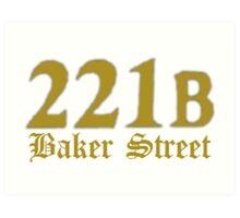 Baker Street Art Print