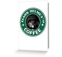 Dark Coffee Greeting Card