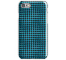 Houndstooth Turquoise iPhone Case/Skin
