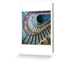 The Blue Tiles Greeting Card